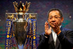 Former Leicester City FC chairman Vichai Srivaddhanaprabha, who passed away yesterday (27/10/18)